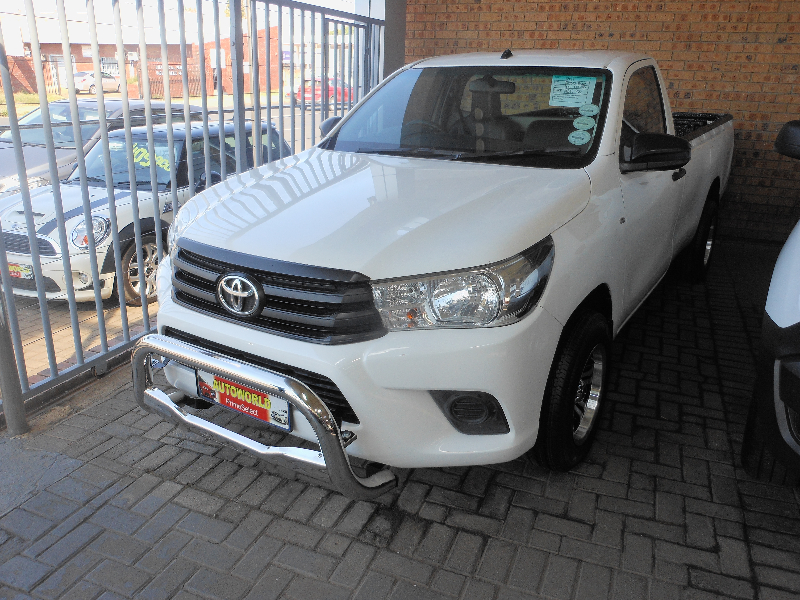 2017 Toyota Hilux  2.0 (aircon) for sale - 145